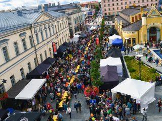 Lähiruokaa, elämyksiä ja kohtaamisia. Satoa - ruokakulttuurifestivaalit, Kuopio, 2015