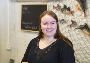 Iitan lähipuoti on yhteisöllinen paikka, tietää yrittäjä Mira Koivunen.