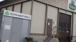 Vaissi Oy:n tehtaanmyymälä toimii itsepalveluperiaatteella.