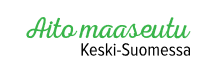 Aito maaseutu Keski-Suomessa -logo