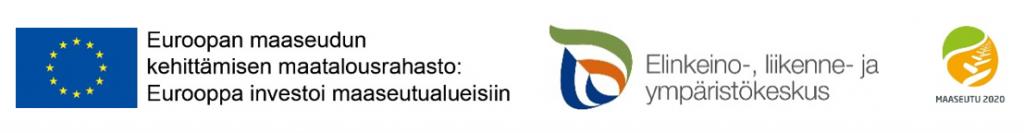 Logot EU, ELY ja Maaseutu2020