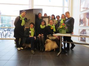 LuoKSe-hanketiimi hankkeen loppufoorumissa 1.2.2018. Kuva: Niina Vuori.