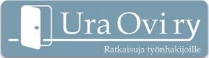 UraOvi ry:n logo